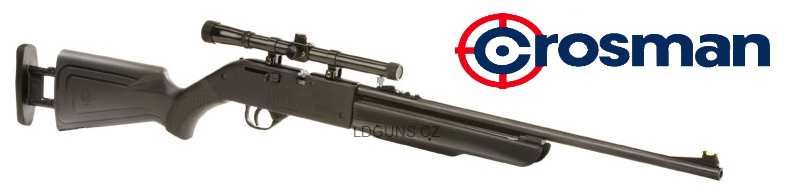 Crosman Recruit RCT525+optika