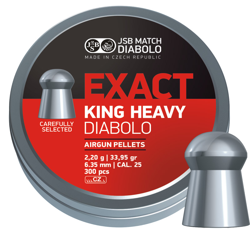 JSB Exact King Heavy 300ks cal.6,35mm