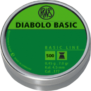 BASIC, KAL. 4,5 MM DÓZA 500 KS