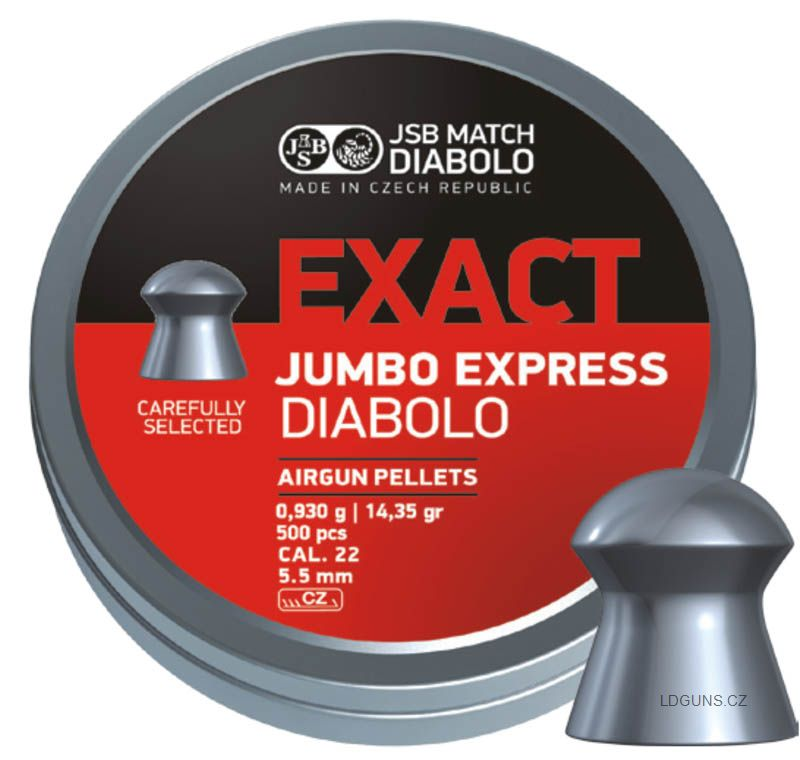 JSB Exact Jumbo Express 250ks cal. 5,52mm