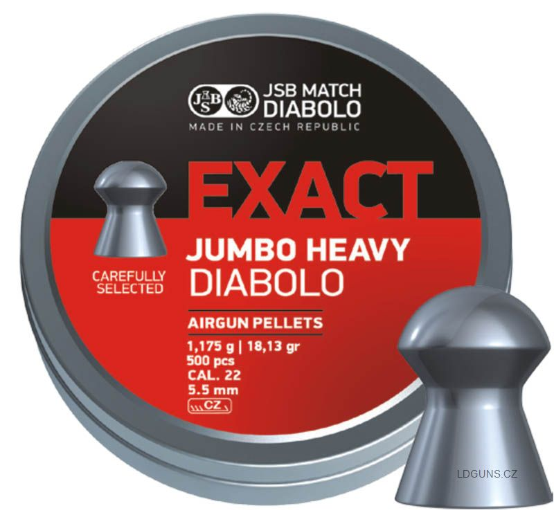 JSB Exact Jumbo Heavy 250ks cal. 5,52mm
