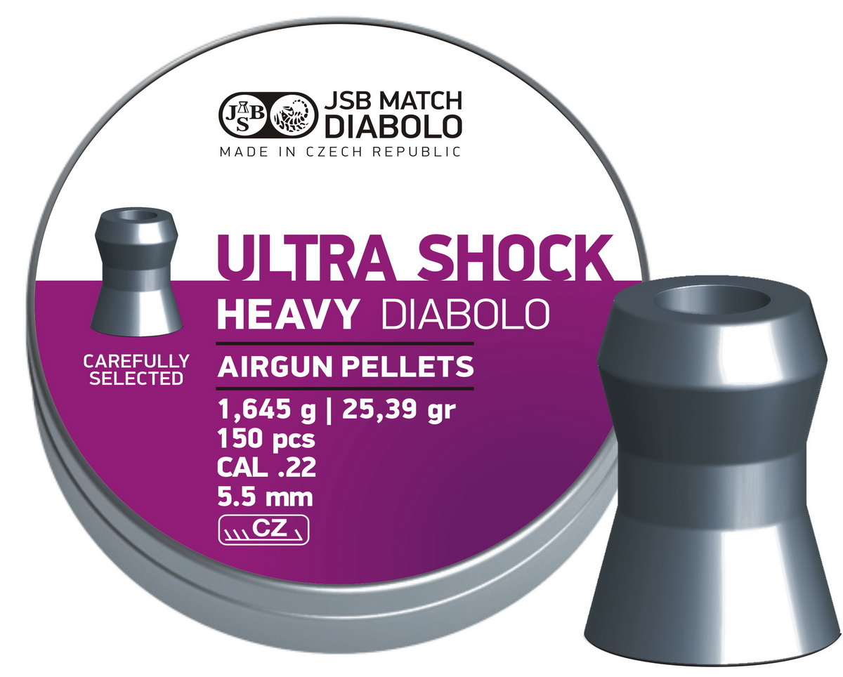 JSB Ultra Shock Heavy 150ks cal.5,52mm