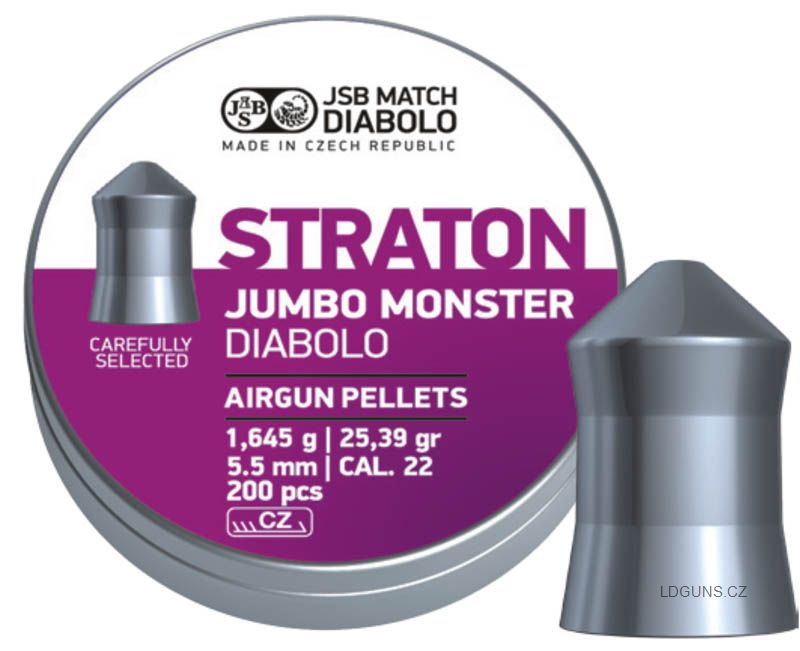 JSB Straton Jumbo Monster 200ks cal. 5,5mm